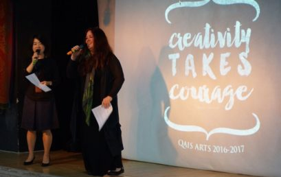 Creativity takes courage performance