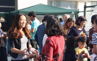 Smiling Faces During QAIS Open House | 在青岛美亚国际学校开放日中微笑的面庞