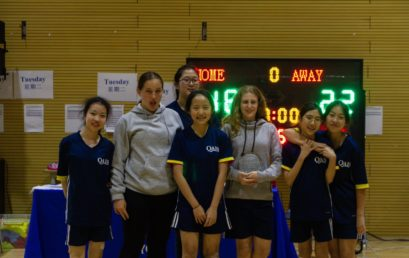 U15 Basketball and Table Tennis Tournament.  Girls Win a Championship!