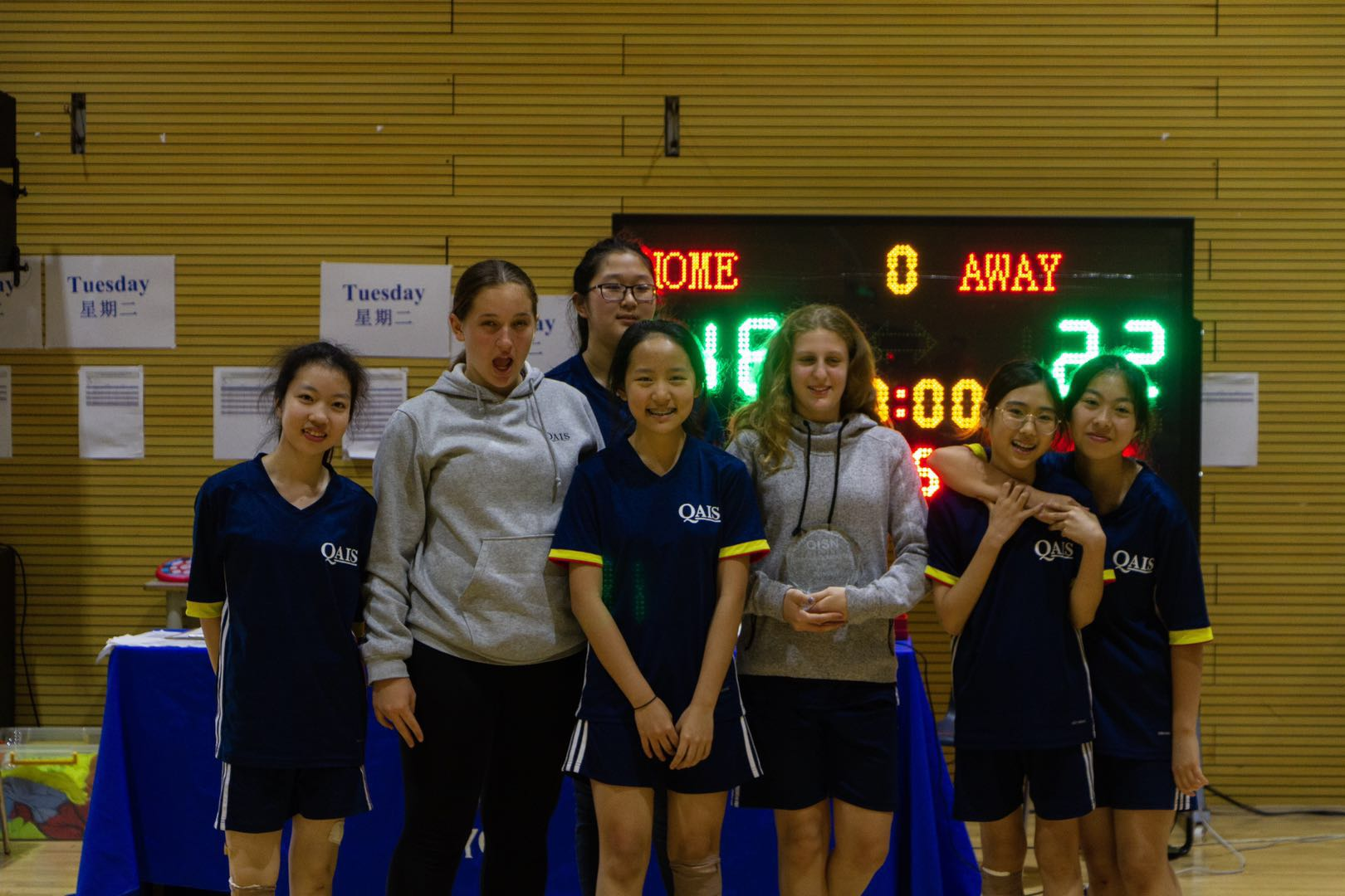 U15 Basketball and Table Tennis Tournament.  Girls Win a Championship!